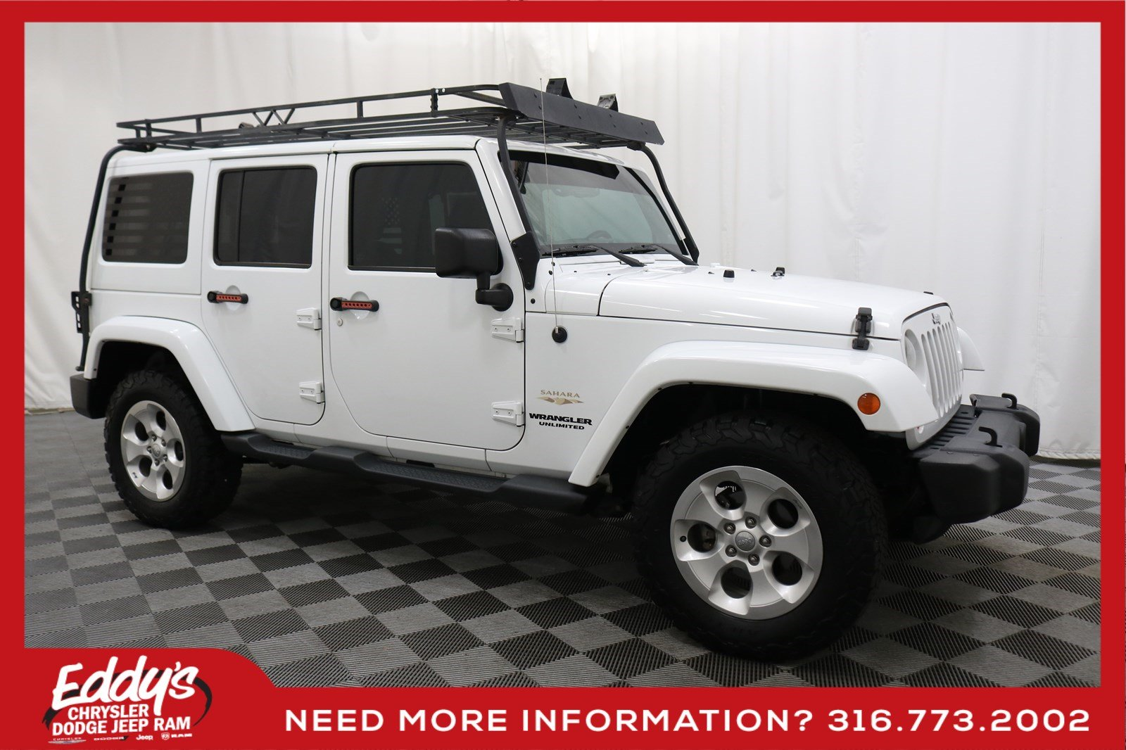 Pre-Owned 2013 Jeep Wrangler Unlimited Sahara 4x4
