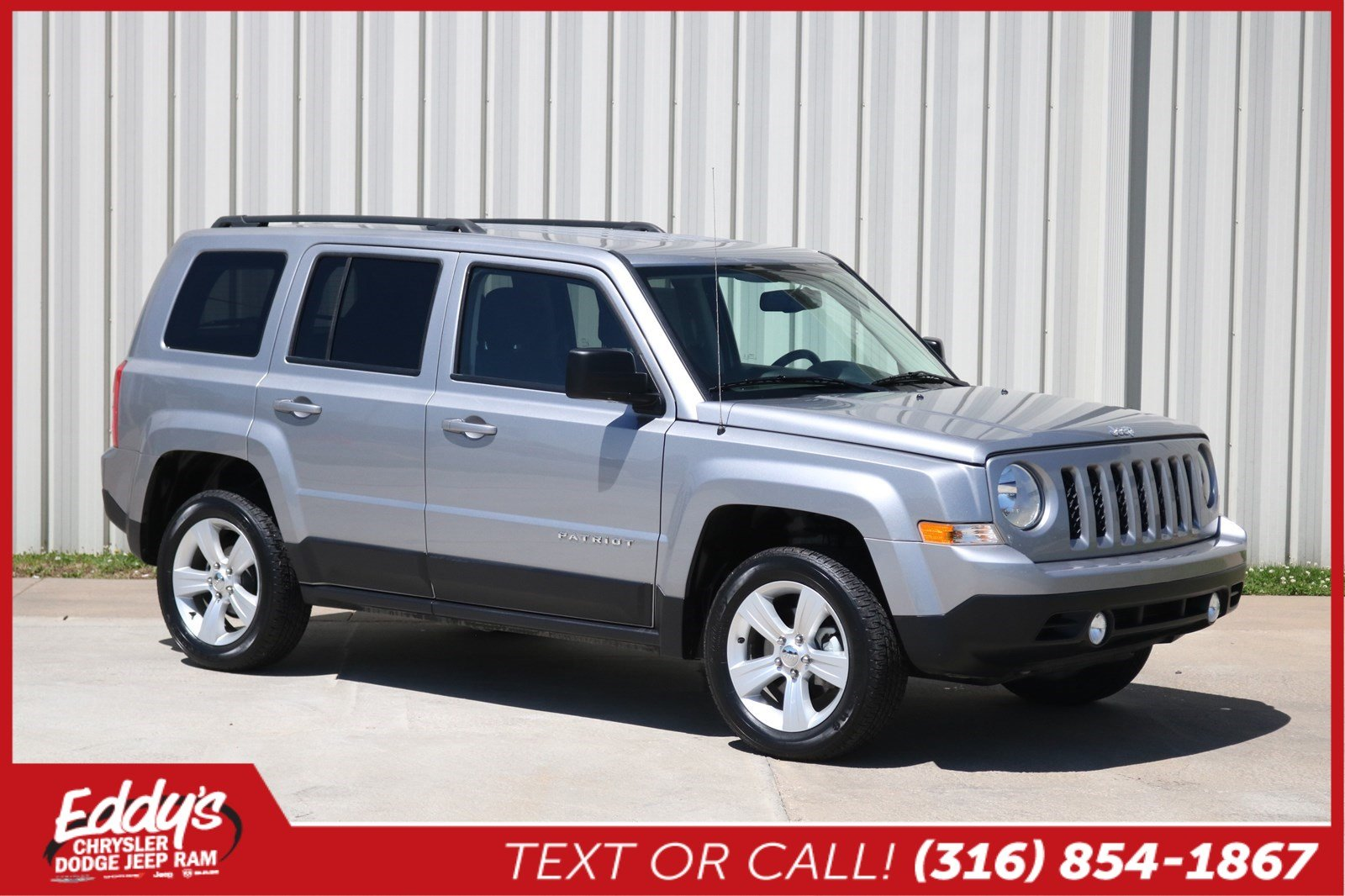 Certified PreOwned 2016 Jeep Patriot Latitude 4x4 SUV in Wichita