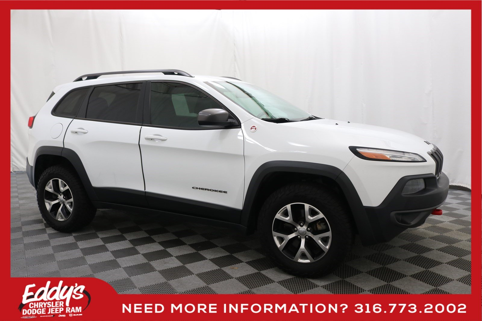 Pre-Owned 2014 Jeep Cherokee Trailhawk 4x4