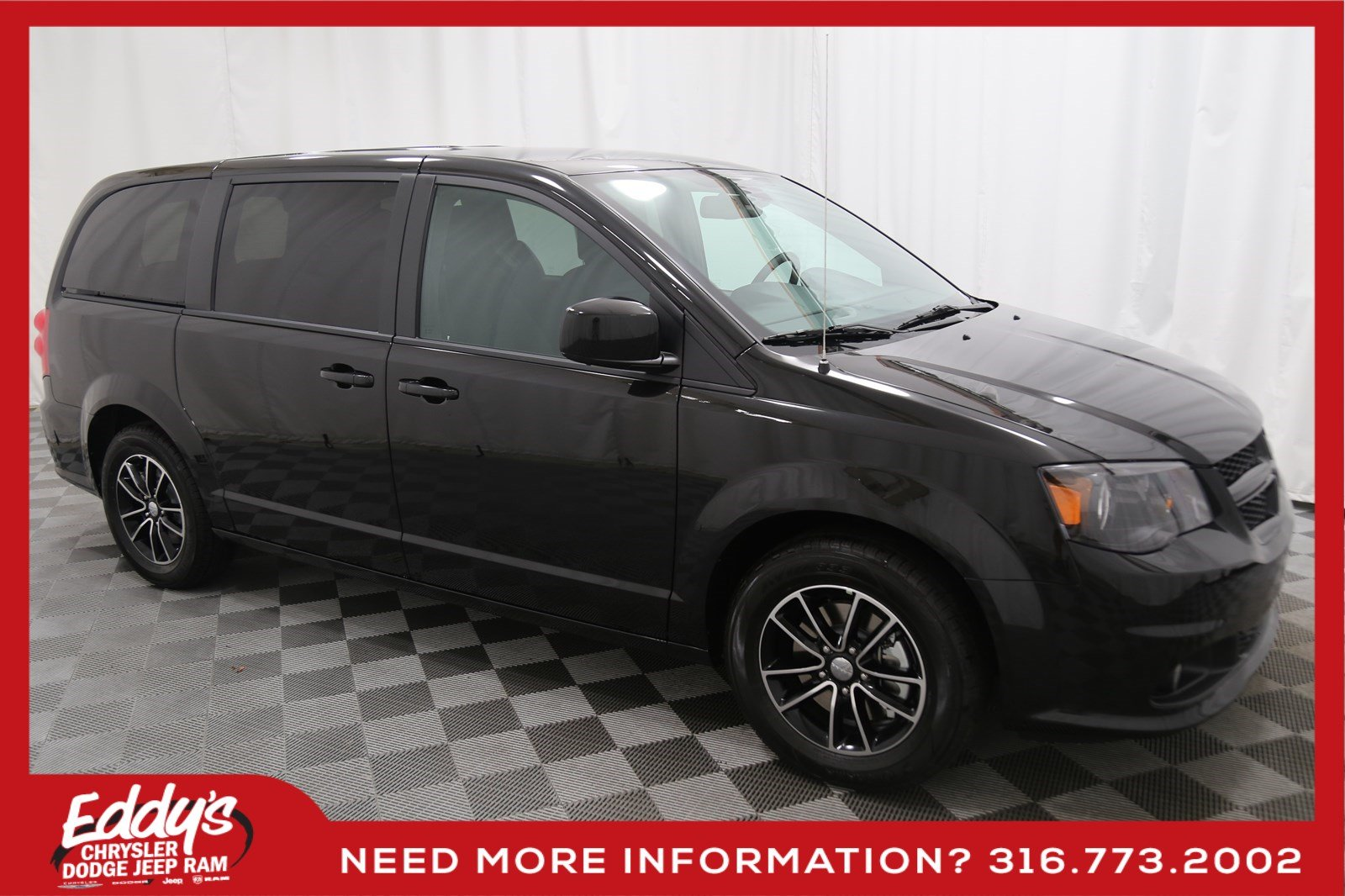 New 2019 Dodge Grand Caravan Se Plus Passenger Van In Wichita